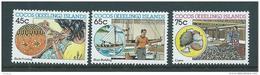 Cocos Keeling Island 1987 Malay Industry Set Of 3 MNH - Cocos (Keeling) Islands