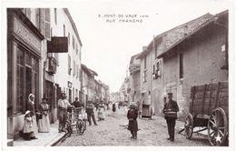 PONT DE VAUX - Rue Franche - - Vayer-Riche - Facteur  (99449) - Pont-de-Vaux