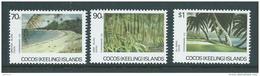 Cocos Keeling Island 1987 Scenes Set Of 3 MNH - Cocos (Keeling) Islands