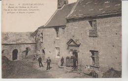 Finistère PLOUDALMEZEAU Ruines Du Chateau De Rosservo Vue De La Cour Intérieure ( Animation) - Ploudalmézeau