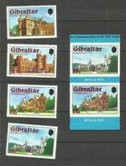 Gibraltar N°372 à 377 Neufs** Cote 3.90 Euros - Gibraltar