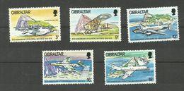 Gibraltar N°379 à 383 Neufs** Cote 3.75 Euros - Gibraltar