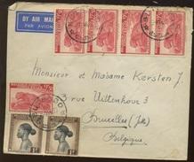 Jolie Enveloppes Avec Léopard   Ø  6-7-46 BUTEMBO - Belgisch-Kongo