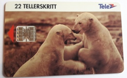 Polar Bears N 40 Norway  , Used - Norway