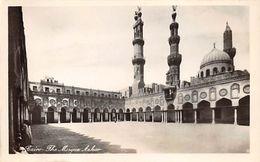 CPA - Egypt - Cairo - The Mosque Azhar - Real Photo Postcard - Islam