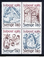 SWEDEN 1985 Christmas MNH / **.  Michel 1360-63 - Unused Stamps