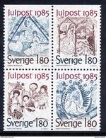SWEDEN 1985 Christmas MNH / **.  Michel 1360-63 - Sweden