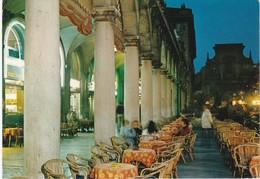 CARTOLINA - POSTCARD - BERGAMO - DI NOTTE - PORTICI - SENTIERONE - Bergamo