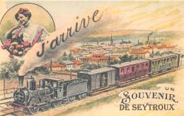 74 HAUTE SAVOIE / Fantaisie Moderne - CPM - Format 9 X 14 Cm - SEYTROUX - Otros Municipios