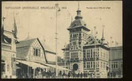 Pavillon De La Ville De Liège à L'expo De 1910 - Weltausstellungen
