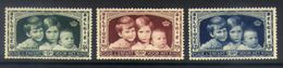 A07 - Belgium - 1935 - OBP 404/406 - MH * - Belgien