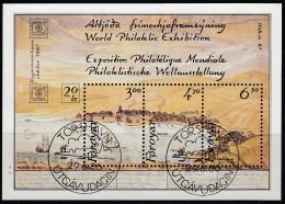 FÄRÖER INSELN  Block 2, Gestempelt, Internationale Briefmarkenausstellung HAFNIA '87, Kopenhagen, 1986 - Féroé (Iles)
