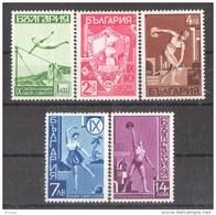 46-307// BG -1939  TURN And SPORTS FESTIVAL *JUNAK* In  SOFIA Mi  360/64 ** - Neufs