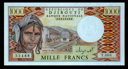 # # # Banknote Dschibuti (Djibouti) 1000 Francs UNC # # # - Dschibuti