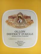 5078 - Mariette Ollon Vaud Suisse - Etiquettes