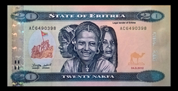 # # # Banknote Eritrea 20 Nakfa UNC # # # - Eritrea