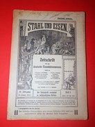 RARE: STAHL UND EISEN / STEEL AND IRON, Magazine Of German Steelworks Of 1921. - Bücher, Zeitschriften, Comics