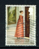 GREAT BRITAIN  -  2013  Jane Austen  77p  Used As Scan - Used Stamps
