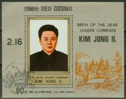 Nordkorea Block 230 O Kim Yong IL - Corée Du Nord