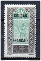 TGC/ Soudan  N° 27  Neuf  XX  MNH , Cote :  2,50 € , Album 12 - Unused Stamps