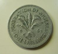 Nigeria 1 Shilling 1961 - Nigeria
