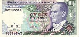 Turkey P.200 10000 Lirasi 1970  Unc - Turchia