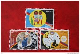 Cultuurzegels NVPH 973-975 1991 MNH POSTFRIS NEDERLANDSE ANTILLEN  NETHERLANDS ANTILLES - Curacao, Netherlands Antilles, Aruba