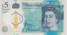 GRANDE-BRETAGNE 5 Pounds 2016 UNC - 1952-… : Elizabeth II