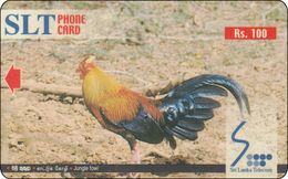 Sri Lanka Phonecard   Hahn Chicken - Sri Lanka (Ceylon)
