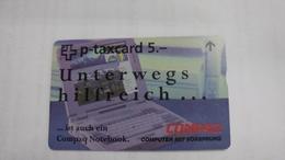 Switzerland-(kf129)-compaq-(sample Card)-mint Card+1card Prepiad Free - Schweiz