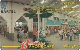 Barbados Phonecard   Bridgetown Cruise Terminal - Barbados