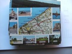 België Belgique West Vlaanderen Kaart Map - Belgique