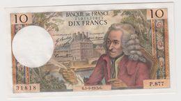 FRANCE 10 Francs Voltaire 05/04/1973 AU-UNC P147d 62/61 P.877 - 10 F 1963-1973 ''Voltaire''
