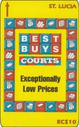 St. Lucia Phonecard  Best Buys Courts - Saint Lucia