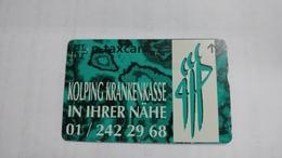 Switzerland-(kf159)-kolping Krankenkasse-(511l)-used Card+1card Prepiad Free - Suisse