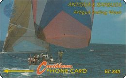 Antigua & Barbuda Phonecard Sailing Ship - Antigua And Barbuda