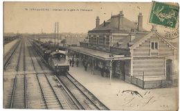 IVRY SUR SEINE - Intérieur De La Gare Du Chevaleret - TRAIN - Ivry Sur Seine