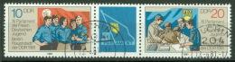 DDR 2609/10 Dreierstreifen O Tagesstempel - [6] Oost-Duitsland