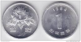 Corea Del Sur 1 Won 1.984 Aluminio KM#31 SC/UNC         T-DL-10.305 - Chile