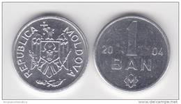 MOLDAVIA  MOLDOVA    1  BAN  2.004  2004   Aluminio   KM#1    SC/UNC   T-DL-10.351 - Moldavia