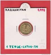 KAZAKHSTAN  1  TENGE  1.997    LATON   KM#23   SC/UNC      DL-8564 - Kazajstán