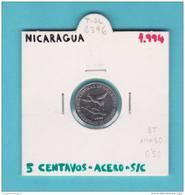 NICARAGUA   5  CENTAVOS   1.994  ACERO   KM#80   SC/UNC      T-DL-8396 - Nicaragua