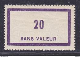 FRANCE FICTIF N° F101 ** MNH Neuf Sans Charnière, TB - Phantomausgaben