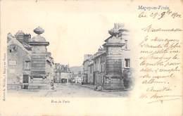 ** Lot De 2 Cartes ** 95 - MAGNY EN VEXIN : Rue De Paris Et Les Piliers - CPA - Val D'Oise - Magny En Vexin