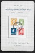 Norvège, 1951 Bloc Semi Officiel Neuf, De-no-fil Tirage 5000 - Blocks & Kleinbögen