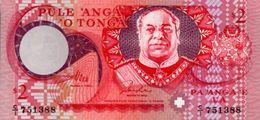 TONGA 2 PA´ANGA 1995 PICK 32b UNC - Tonga