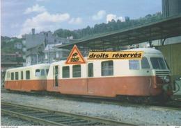 Autorail Billard Et Remorque Du P.O. Corrèze, En Gare De Tulle (19)  - - Tulle