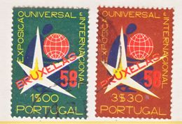 PORTUGAL 830-31    (o)  BRUSSELS  EXPO. - 1958 – Brussels (Belgium)