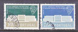 PORTUGAL 836-7    (o)  TROPICAL  MEDICINE - Medicine