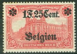 Landespost In Belgien 23I ** Postfrisch - Occupation 1914-18